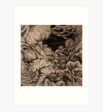Eingeweide Landschaft Art Print