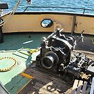 Anchor Winch etc., aboard Steam Tug 'Yelta' Port Adelaide. by Rita Blom