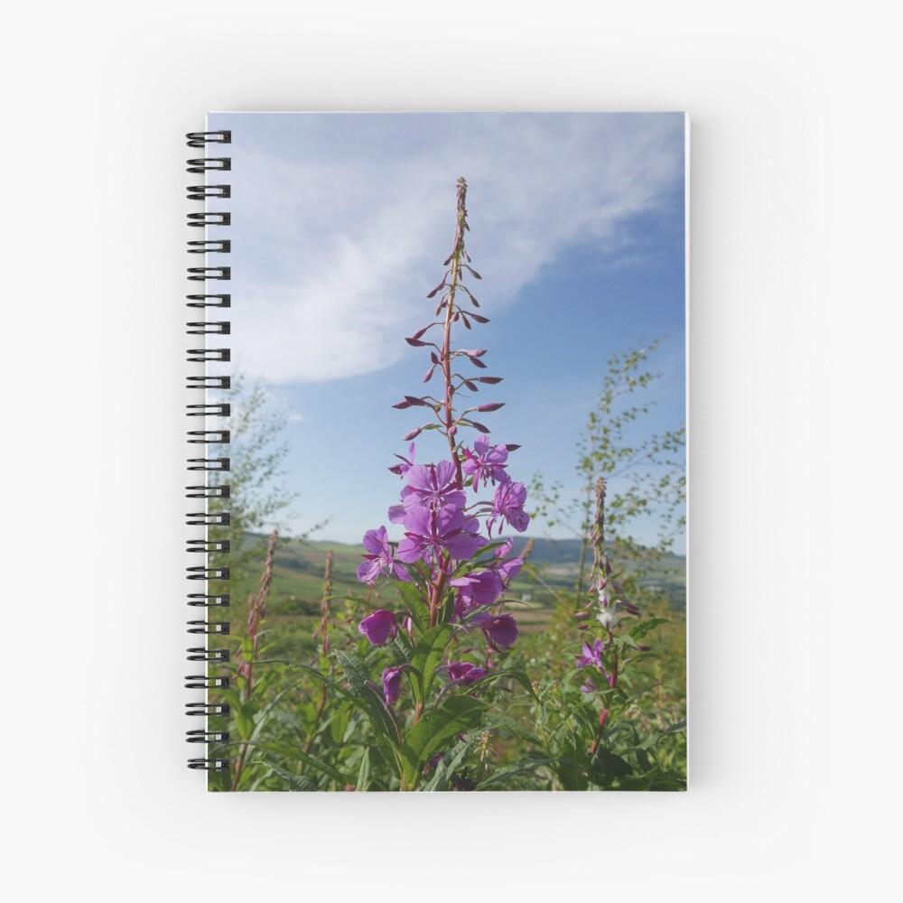 Rosebay Willowherb (Chamerion angustifolium) Spiral Notebook