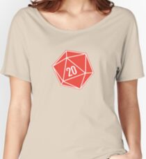 Polyhedra Die Women's Relaxed Fit T-Shirt