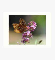 Flutter Power Art Print