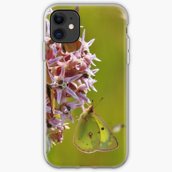 Clouded Yellow iPhone Soft Case