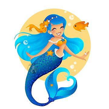 Blue Mermaid  de Redhead-K