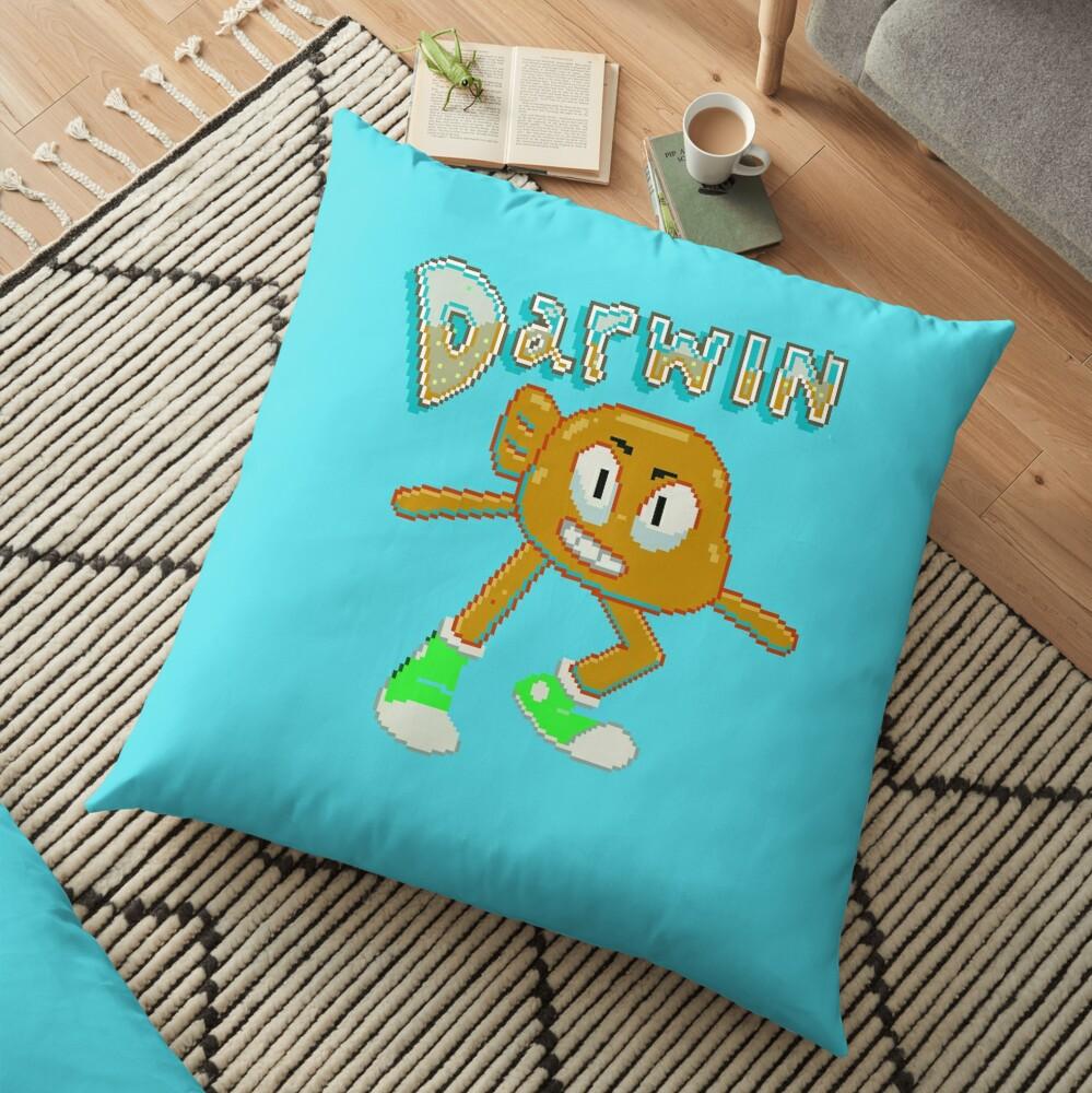 Darwin Watterson Floor Pillow