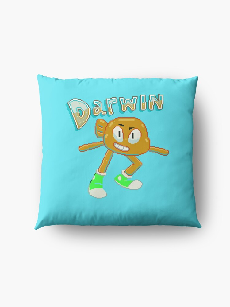 Alternate view of Darwin Watterson Floor Pillow