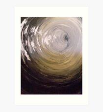 Screaming Black Hole  Art Print