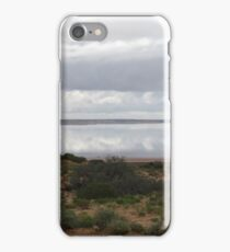'LAKE HART'  Stuart Highway. North, South Australia iPhone Case/Skin