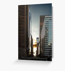 Philadelphia Skyscraper Greeting Card