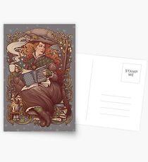 NOUVEAU FOLK WITCH Postcards