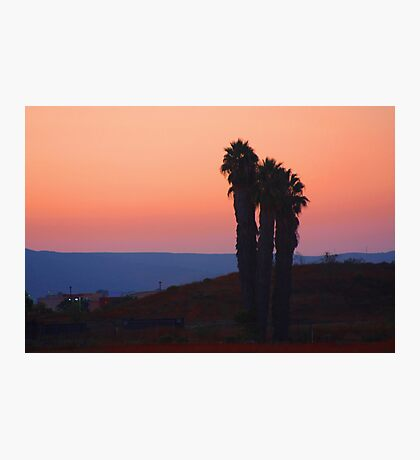 San Diego Sunset Photographic Print
