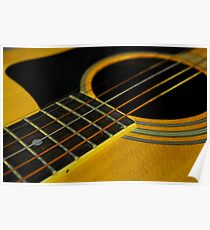 Acoustic Guitar - I Poster