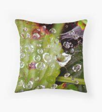 Wet Web Throw Pillow