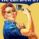 Coffee Revolution! Rosie The Barista - Rosie The Riveter Parody - Barista Labor Union by epitomegirl