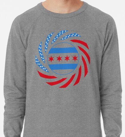 Chicago Murican Patriot Flag Series Lightweight Sweatshirt