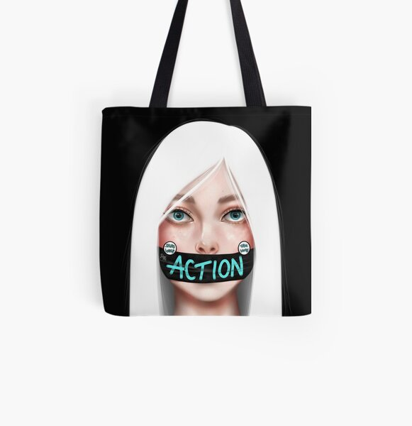 Action speaks louder than words All Over Print Tote Bag