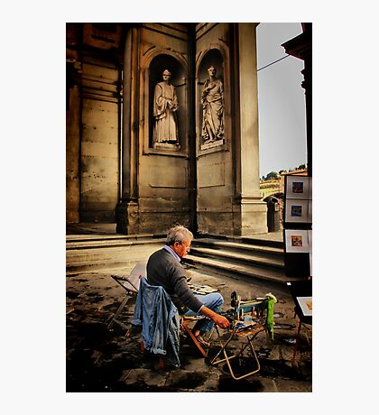 Artist of Firenze Photographic Print