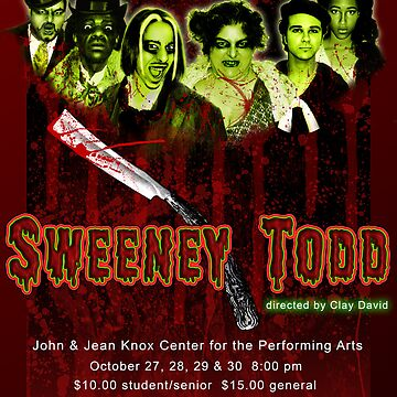 SWEENEY TODD poster by DeepRedTiger