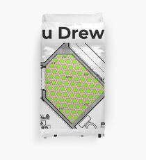 You Drew It - You Install It! Duvet Cover