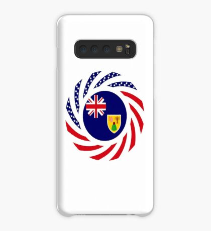 Turks & Caicos Islander American Multinational Patriot Flag Series Case/Skin for Samsung Galaxy