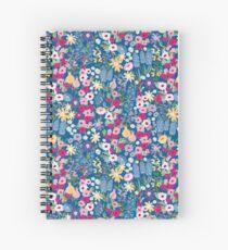 Pretty Cottage Garden Spiral Notebook
