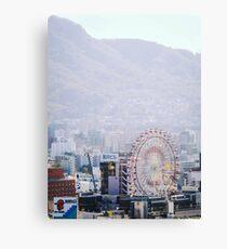 Susukino Ferris Wheel Canvas Print