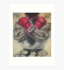 "airbrush ""Ryu"" Artwork Art Print"