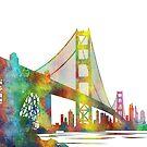 Golden Gate Bridge, San Francisco von Marlene Watson