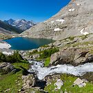 Lower Headwall Lake by MichaelJP