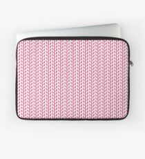 Contemporary Pink Print Laptop Sleeve