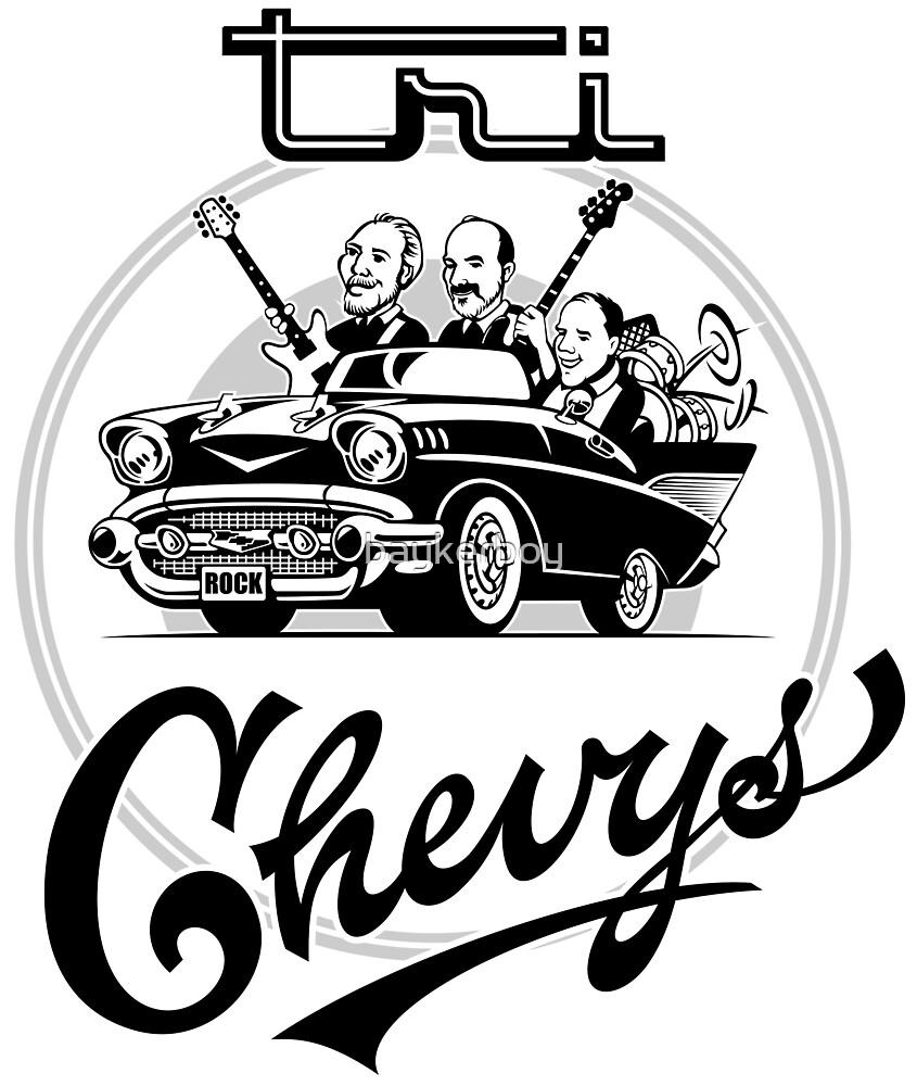 Tri Chevys Preformance Shirt by baykerboy