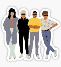 queen in the 80s Sticker