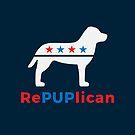 Republican Party 2020 RePUPlican Dog Owner by Maria Faith Garcia