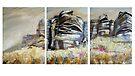 Stanage Triptych by Sue Nichol
