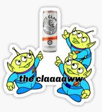 White Claw Sticker Sticker