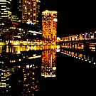 yarra river | melbourne by Anthony Hennessy