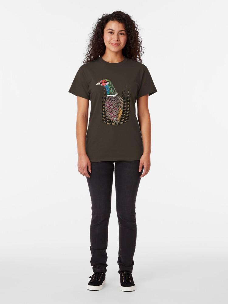 Alternate view of Pheasant Totem Classic T-Shirt