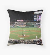 Washington Nationals Baseball Ballpark Throw Pillow