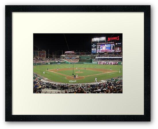 Washington Nationals Baseball Ballpark by Judson Joyce