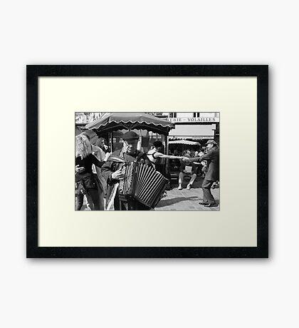 Rue Mouffetard Market (Paris) Framed Print