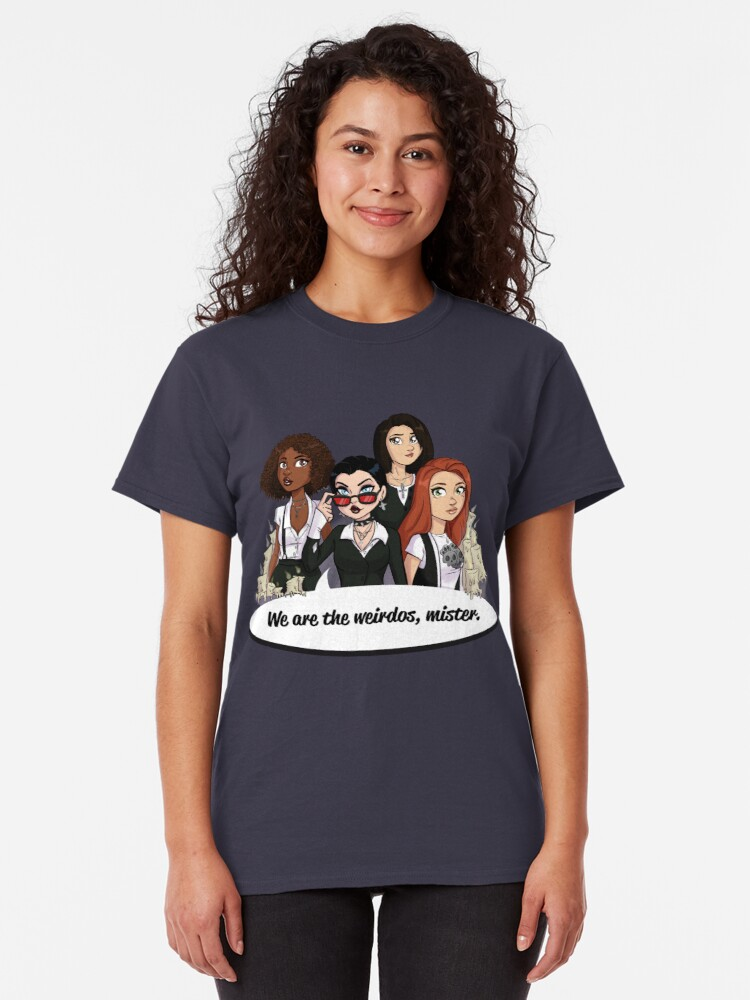 Alternate view of We Are the Weirdos, Mister Classic T-Shirt