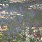 Monet's Water Lilies (Orangerie, Paris) by Christine Oakley