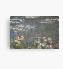 Monet's Water Lilies (Orangerie, Paris) Canvas Print