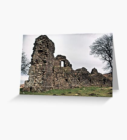 Pendragon Castle Greeting Card