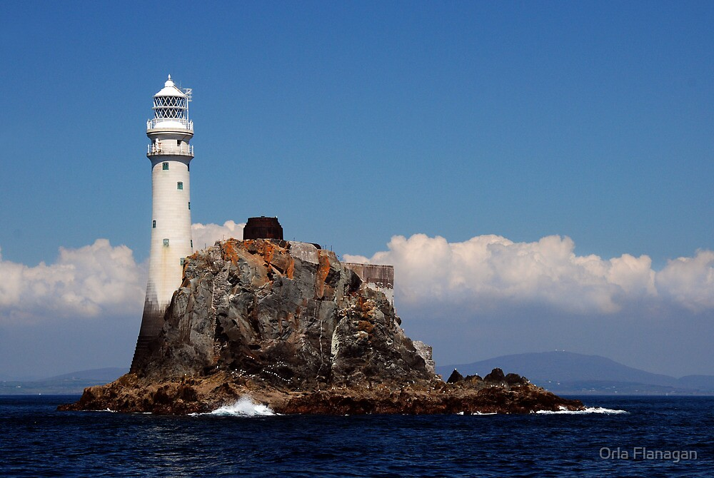 'Ireland's Teardrop' - the Fastnet Rock and lighthouse by Orla Flanagan
