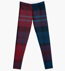 02904 Evans of Wales Tartan  Leggings