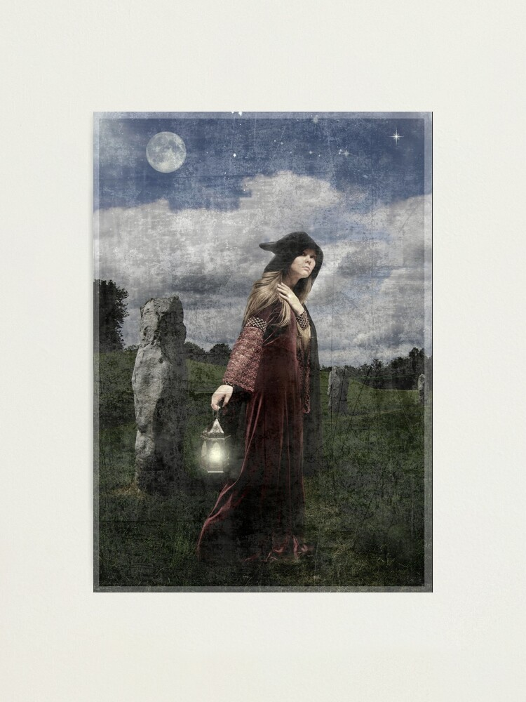 Alternate view of Hedgewitch Photographic Print