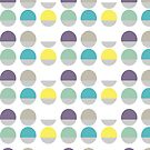 Two Tone Dots by Pip Pottage