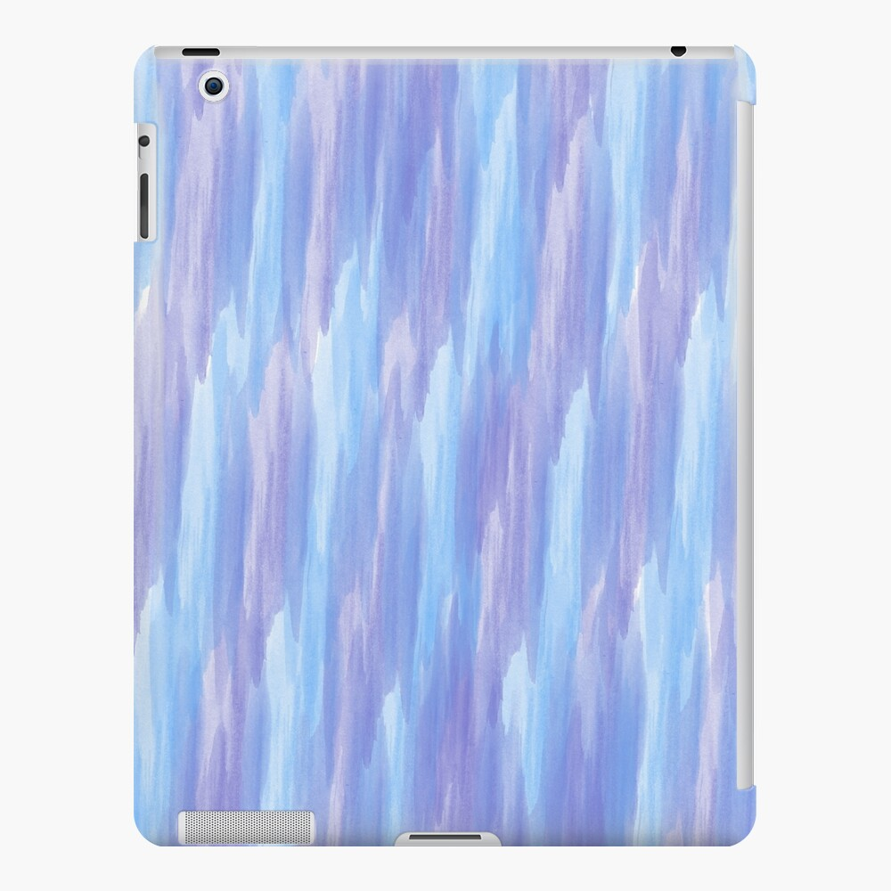 Aqua Violet Waves Funda y vinilo para iPad