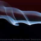 Smoky blues Night waves by Richard G Witham