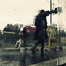 Rain on a Train by Vadim  Bravo